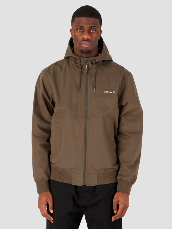Carhartt WIP Marsh Jacket Cypress White I027797-6300