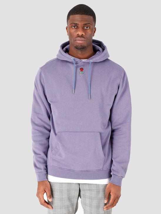 Stranger Society Garden Hoodie Washed Blue Washed