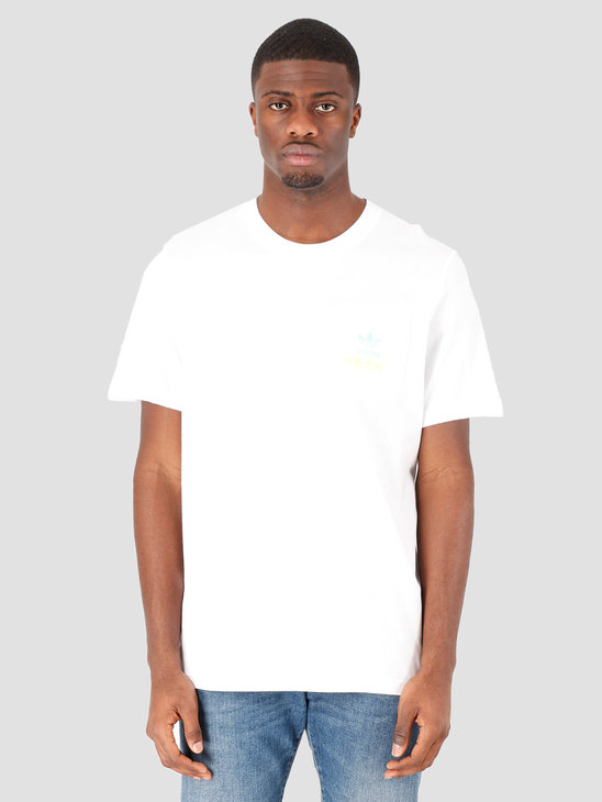 adidas Pocket T-Shirt White FM3346