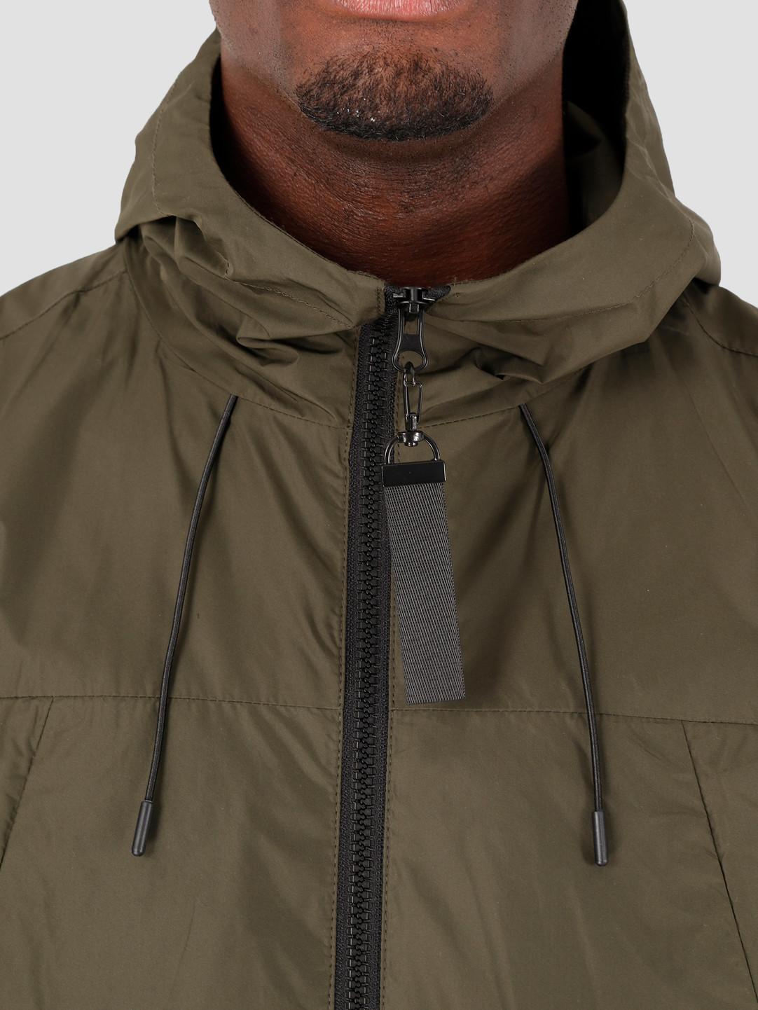Quality Blanks Quality Blanks QB27 Windbreaker Jacket Military Green