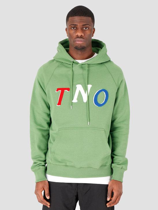 The New Originals TNO Fabric Hoodie Green Multi