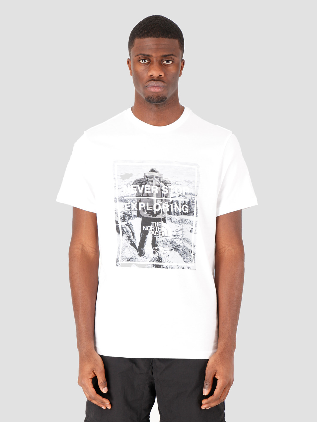 The North Face The North Face Short Sleeve Graphic Tee TNF White TNF White NF0A493MLG51