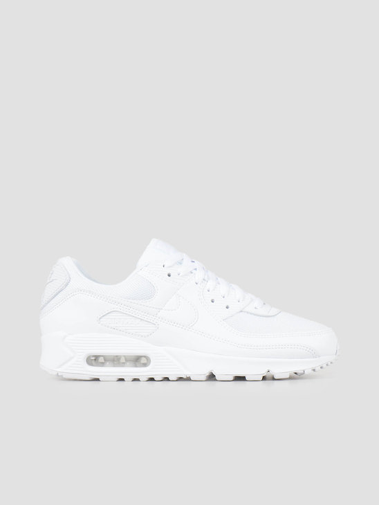 Nike Air Max 90 White White White Wolf Grey CN8490-100