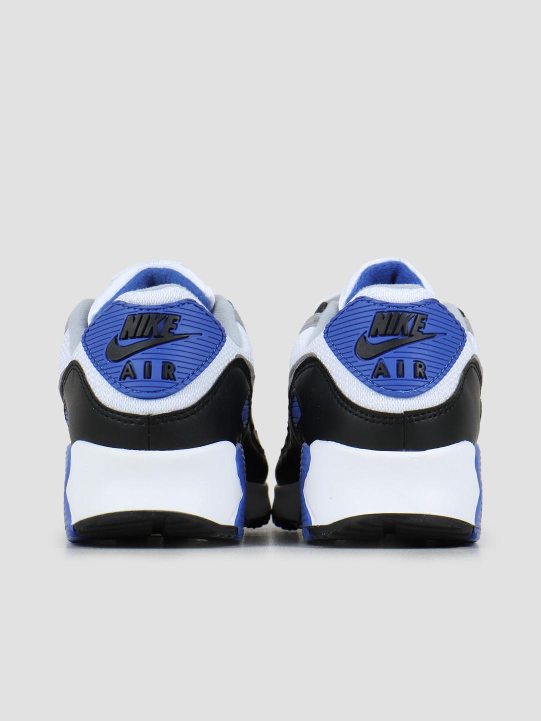 Nike Nike Air Max 90 White Particle Grey Hyper Royal Black CD0881-102