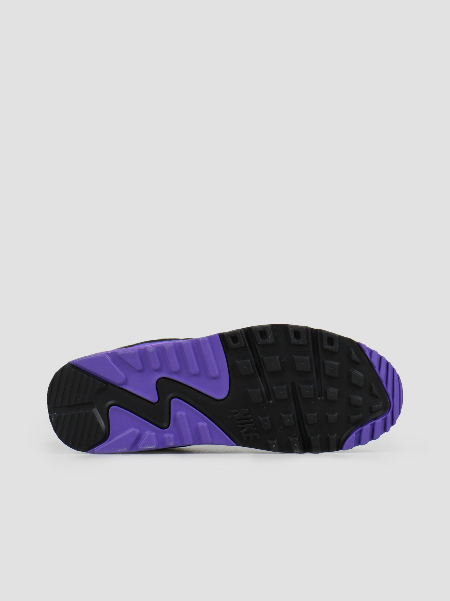 Nike Nike Air Max 90 White Particle Grey Hyper Grape Black CD0881-104
