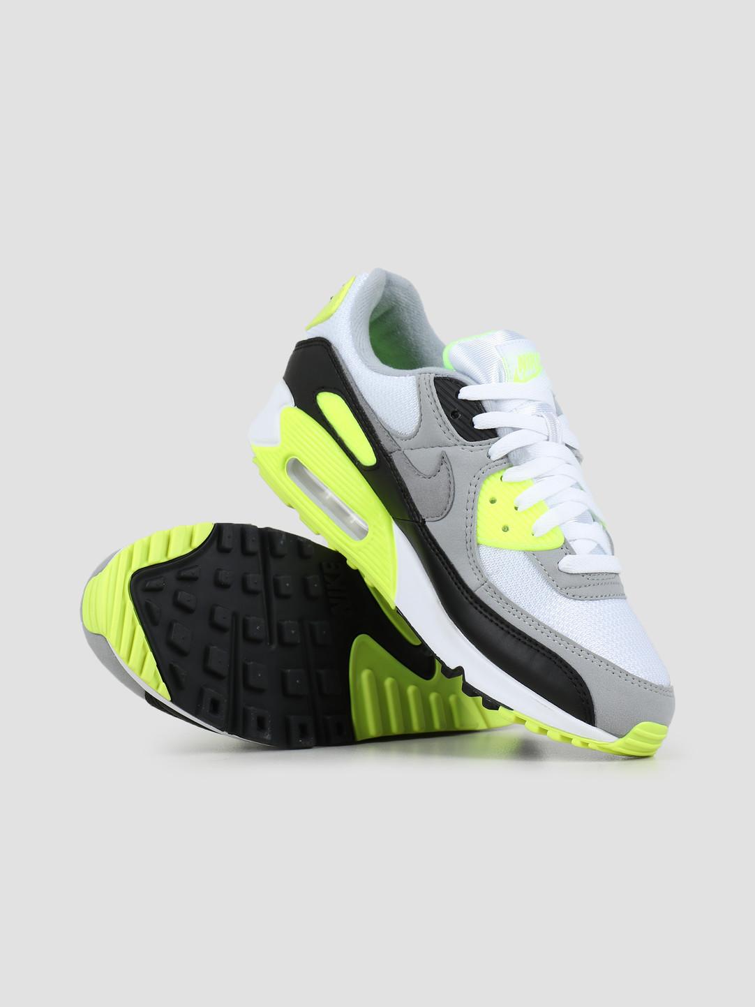 Nike Nike Air Max 90 White Particle Grey Volt Black CD0881-103