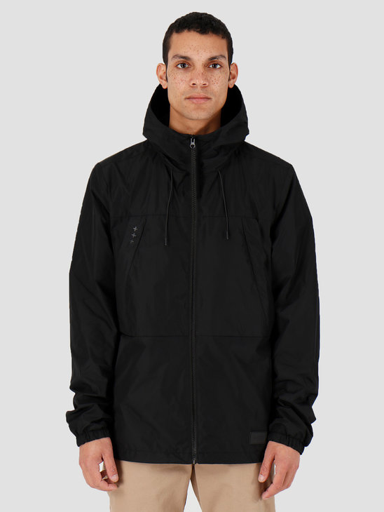 Quality Blanks QB27 Windbreaker Jacket Black