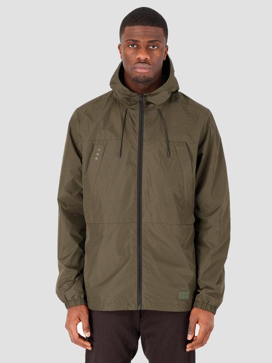 Quality Blanks QB27 Windbreaker Jacket Military Green