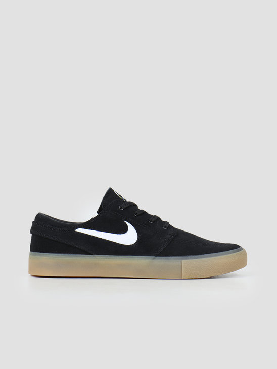 Nike Nike SB Zoom Stefan Janoski RM Black White Black Gum Light Brown AQ7475 003