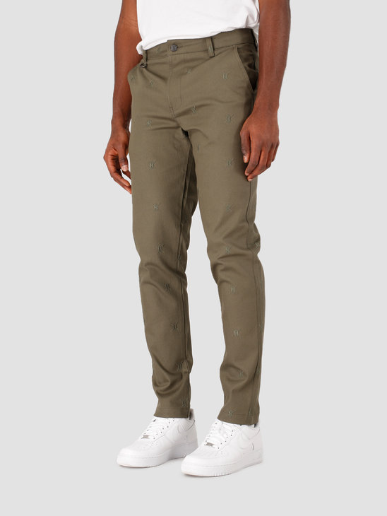 Daily Paper Kenya Pants Kenya Pants Grape Leaf Green 20E1PA01-02