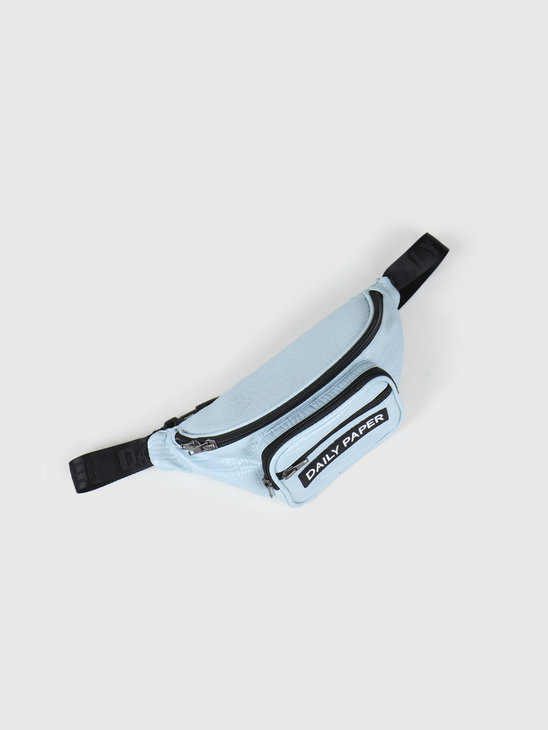 Daily Paper Habi Waistbag Blue Croco 20S1AC16-02