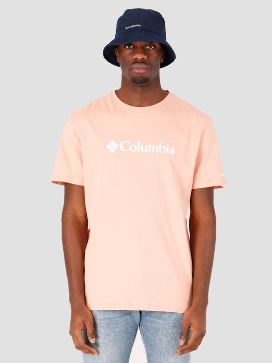 Columbia CSC Basic Logo Short Sleeve Light Coral 1680053848