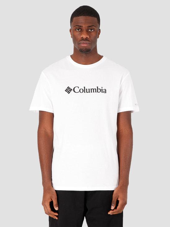 Columbia CSC Basic Logo Short Sleeve White 1680053100
