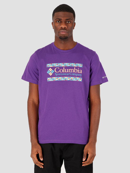 Columbia Rapid Ridge Graphic TeVivid Purple Ic 1888813517