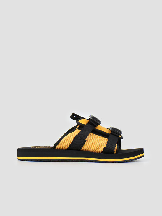 The North Face Eqbc Slide TNF Black TNF Yellow NF0A46B3LE61