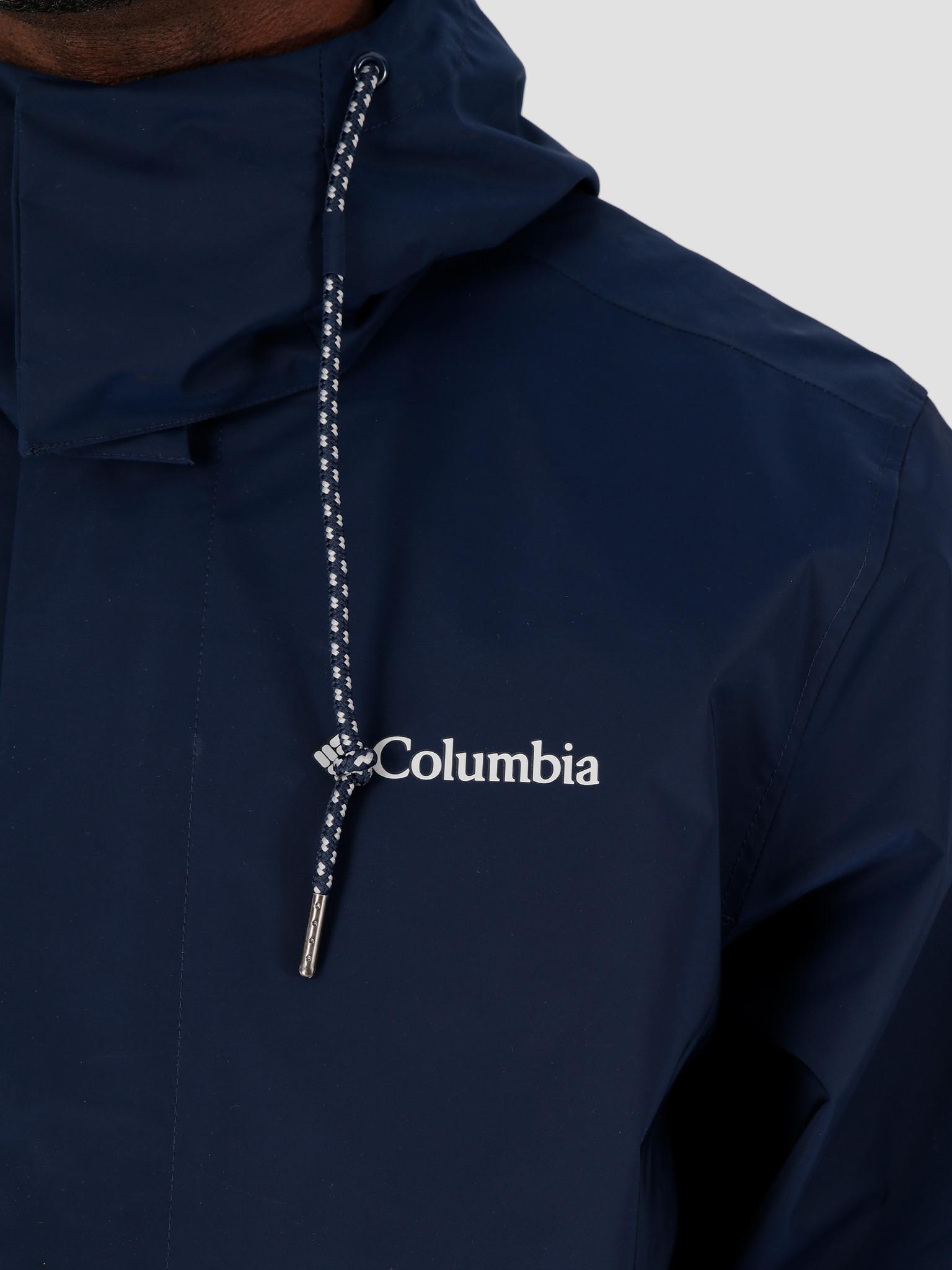 Columbia Columbia East Park Mackintosh Jacket Collegiate Navy 1889313464