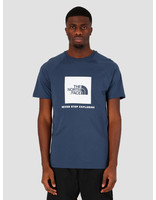 The North Face The North Face Short Sleeve Raglan Redbox Tee Blue Wing Teal NF0A3BQON4L1