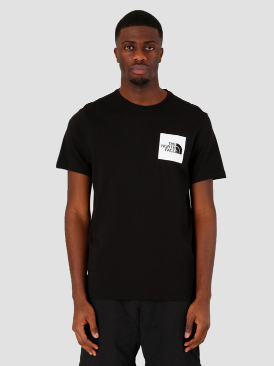The North Face Short Sleeve Fine Tee TNF Black NF00CEQ5JK31