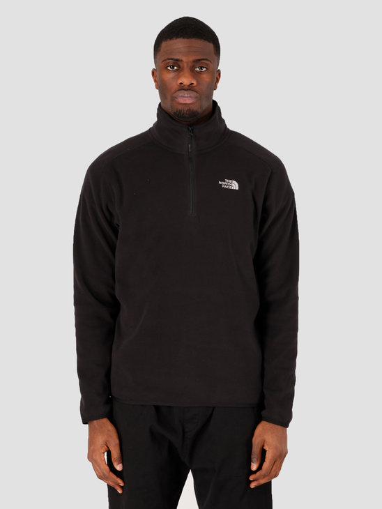 The North Face 100 Glacier 1/4 Zip TNF Black NF0A2UARJK31