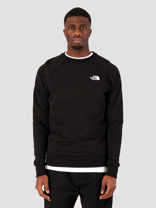 The North Face Raglan Redbox Crewneck TNF Black TNF White NF0A3RZ2KY41