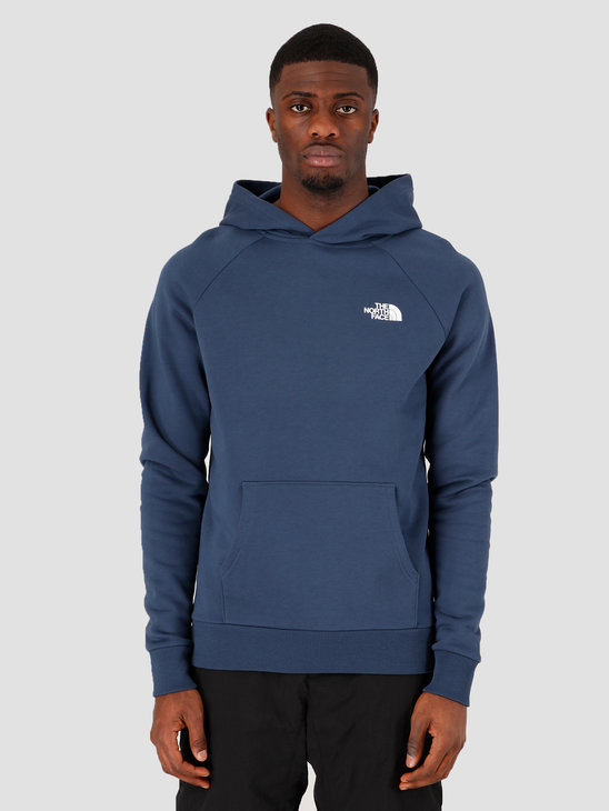 The North Face Raglan Redbox Hoodie Blue Wing Teal NF0A2ZWUN4L1