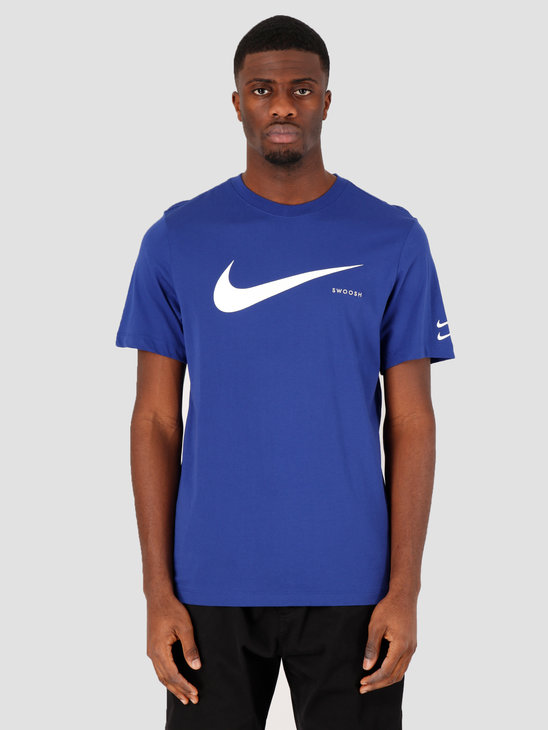 Nike NSW Swoosh Hbr Ss T-shirt Deep Royal Blue White CK2252-455