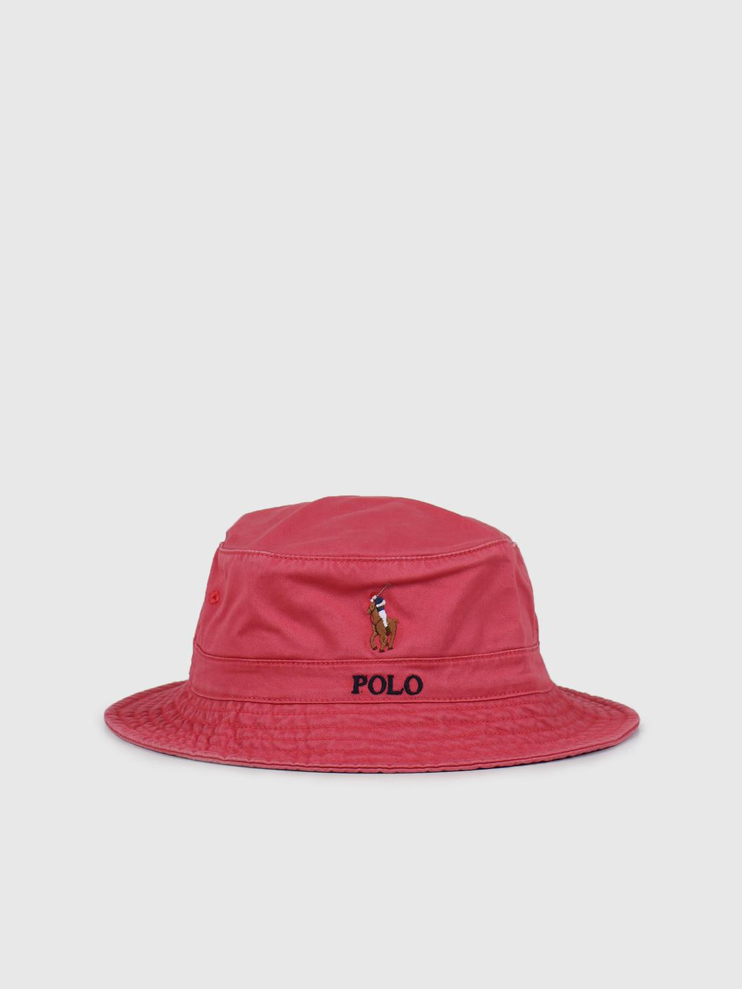Polo Ralph Lauren Polo Ralph Lauren Loft Bucket Cap Multi PP Nantucket Red 710787242002