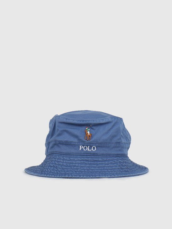 Polo Ralph Lauren Loft Bucket Cap Multi PP Old Royal 710787242003