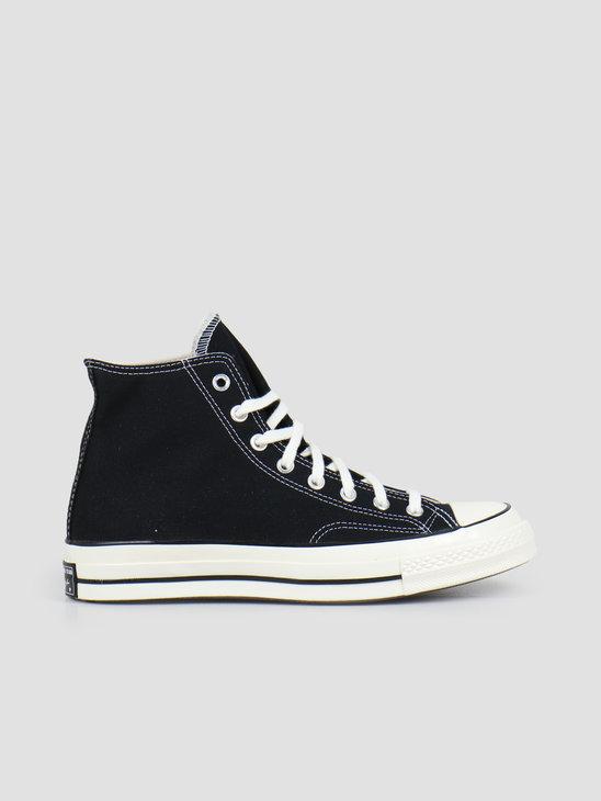 Converse Chuck 70 HI Black Black Egret 162050C