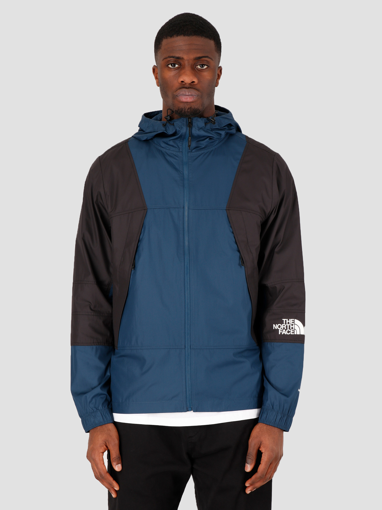 The North Face The North Face Mountain Light Windshell Jacket Blue Wing Teal NF0A3RYSN4L1