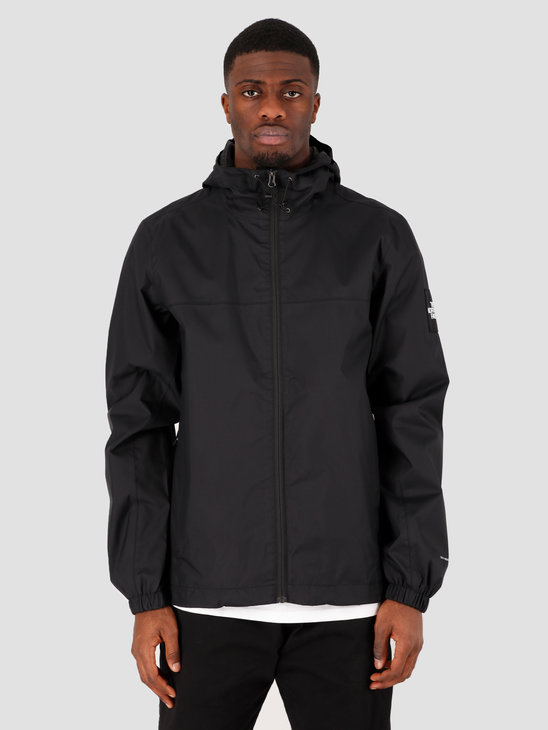The North Face Mountain Q Jacket Black White