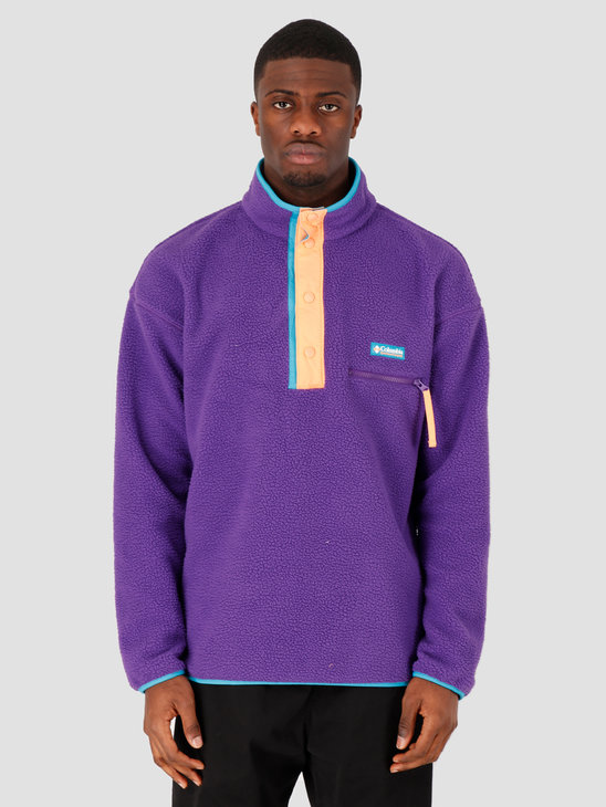 Columbia Helvetia Half Snap Fleece Vivid Purple 1889853517