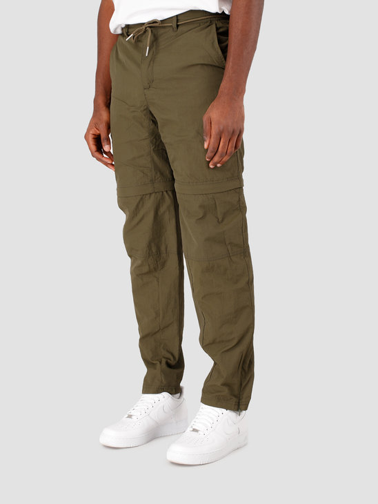 The New Originals Parachute Trousers  Dark Green