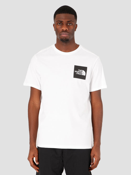 The North Face Fine T-Shirt TNF White TNF Black T0CEQ5LA9