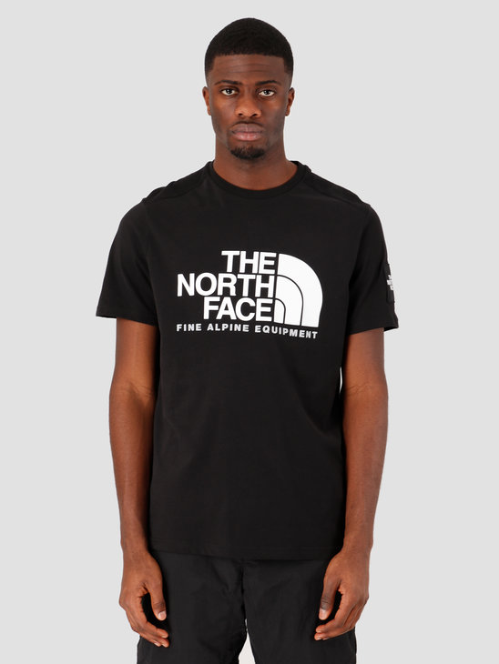 The North Face Short Sleeve Fine Alpine Tee 2 TNF Black NF0A4M6NJK31