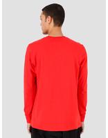 adidas adidas Small Logo Longsleeve Lush Red FM3347