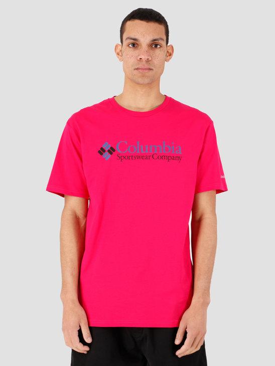 Columbia CSC Basic Logo Short Sleeve Cactus Pink Ico 1680053612