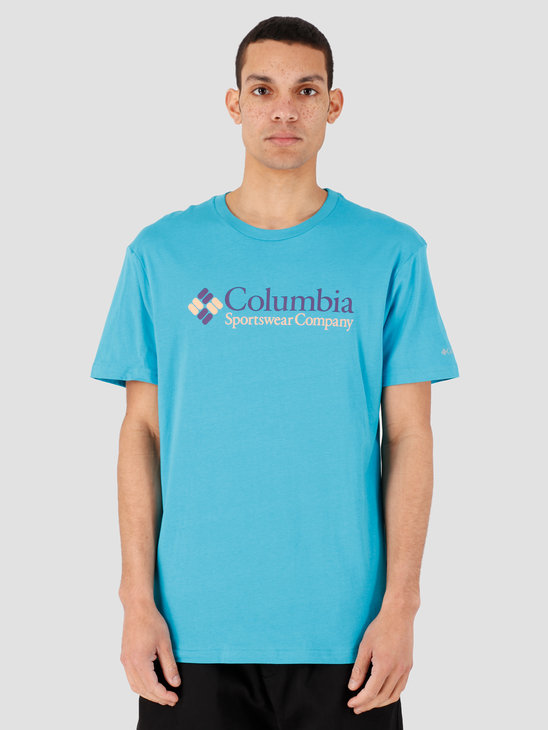 Columbia CSC Basic Logo Short Sleeve Clear Water Ico 1680053451