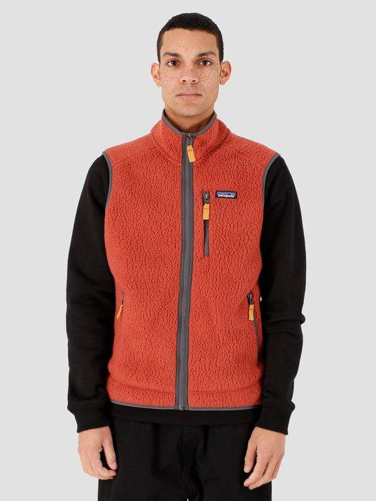 Patagonia M's Retro Pile Vest Spanish Red 22821