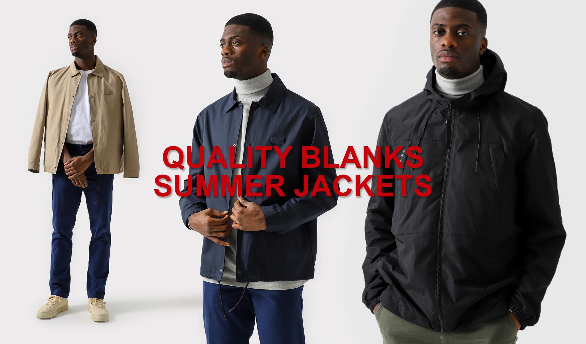 New Quality Blanks Jackets