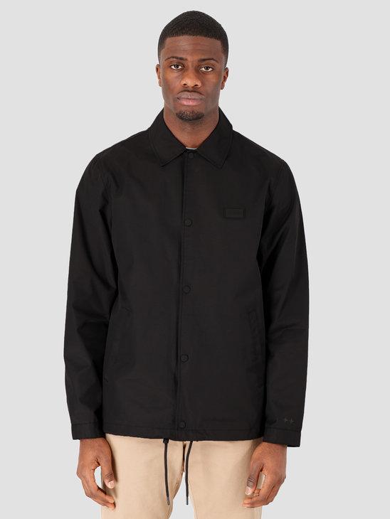 Quality Blanks QB28 Coach Jacket Black