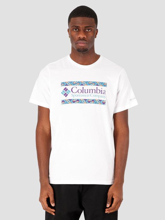 Columbia Rapid Ridge Graphic Tee White Icon 1888813101