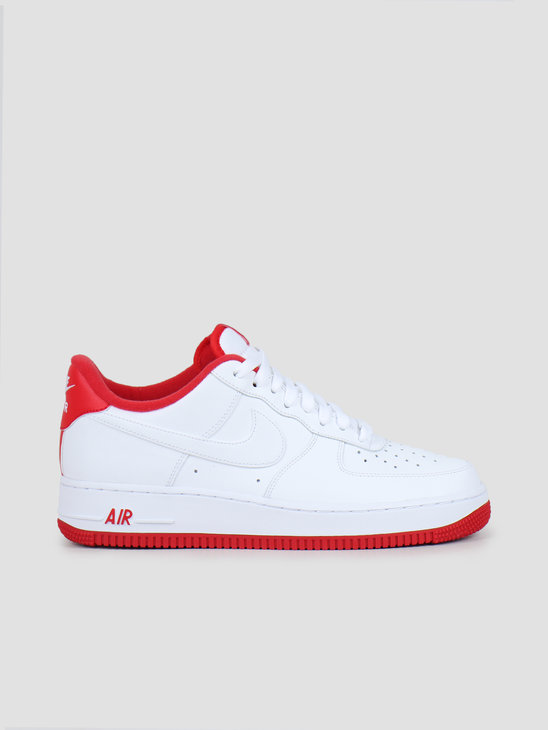Nike Air Force 1 '07 1 White University Red CD0884-101
