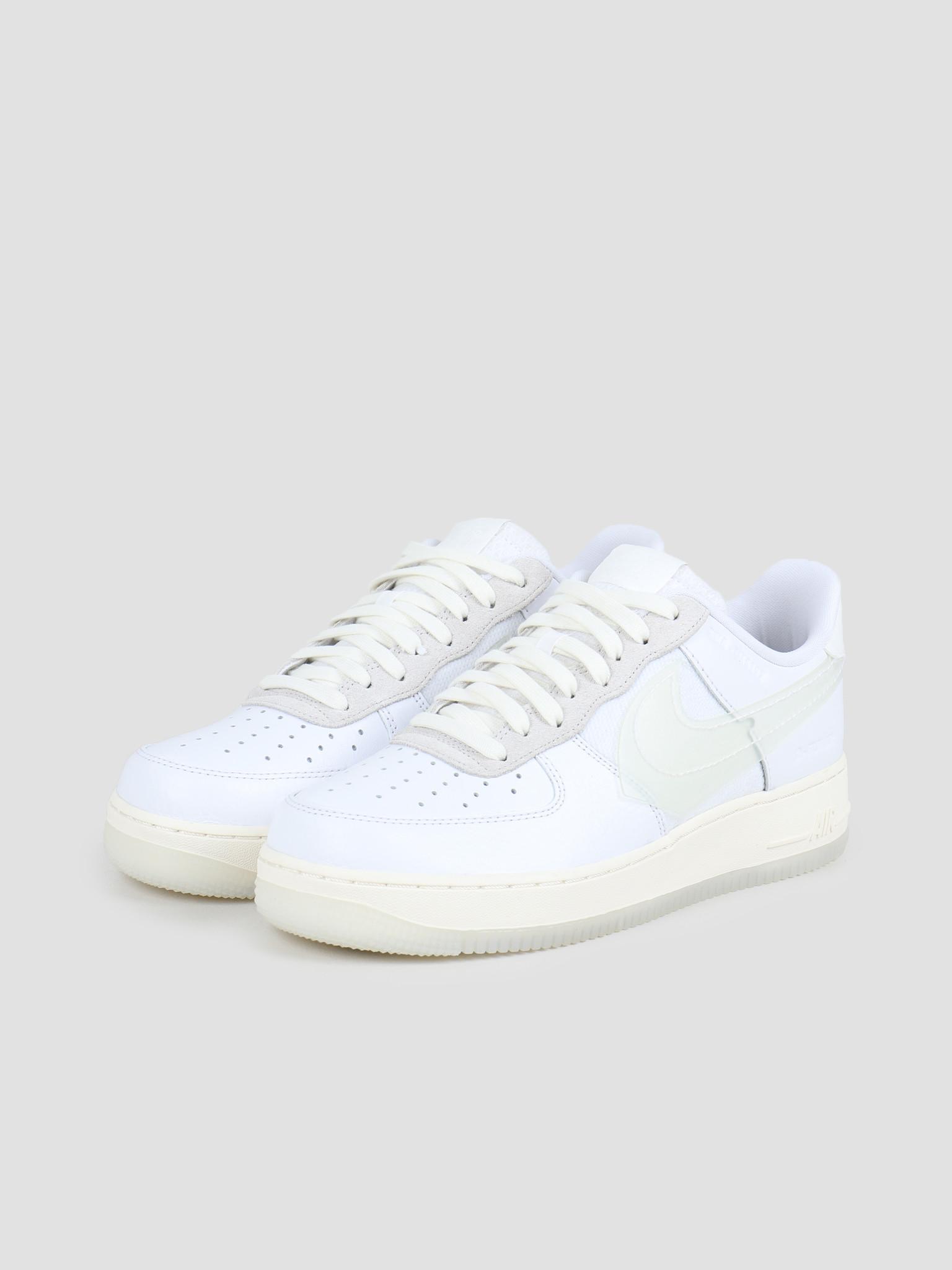 Nike Nike Air Force 1 Lv8 White White Sail Black CV3040-100