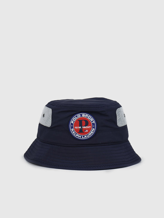 Polo Ralph Lauren Modern Loft Bucket Hat Newport Navy 710790283001