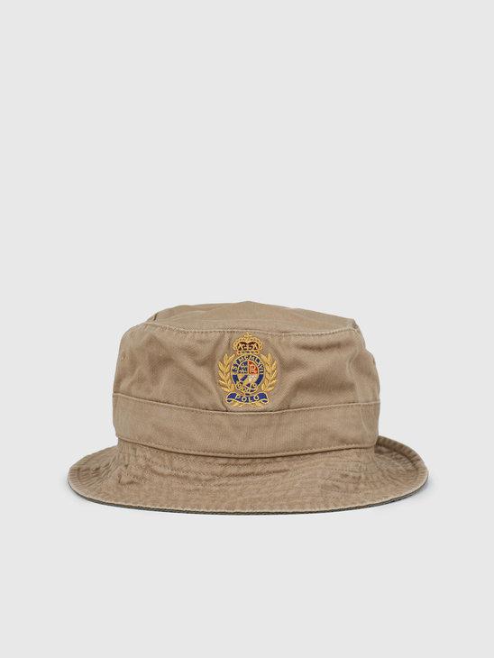 Polo Ralph Lauren Loft Bucket Cap Luxury Tan 710787239002