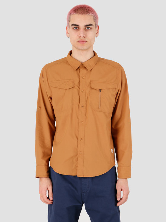 The North Face Sequoia Shirt Cedar Brown NF0A2XJWWXE1