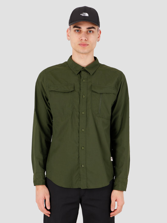 The North Face Sequoia Shirt English Green NF0A2XJW37X1