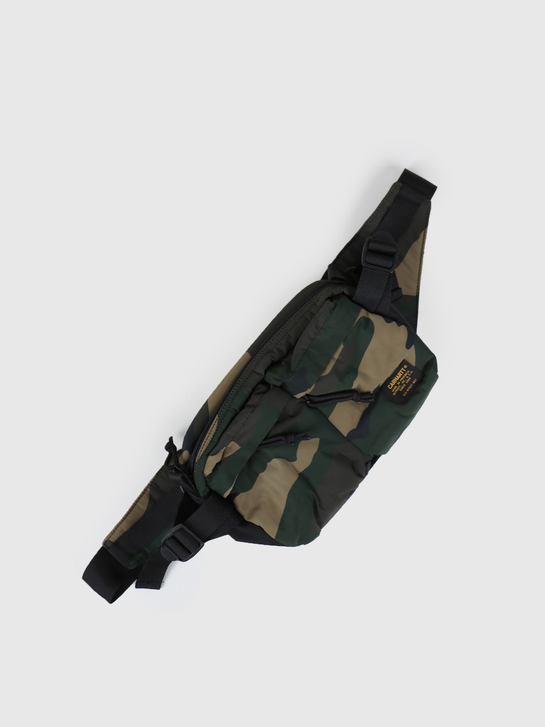 Carhartt WIP Carhartt WIP Military Hip Bag Camo Laurel Black I024252-64090