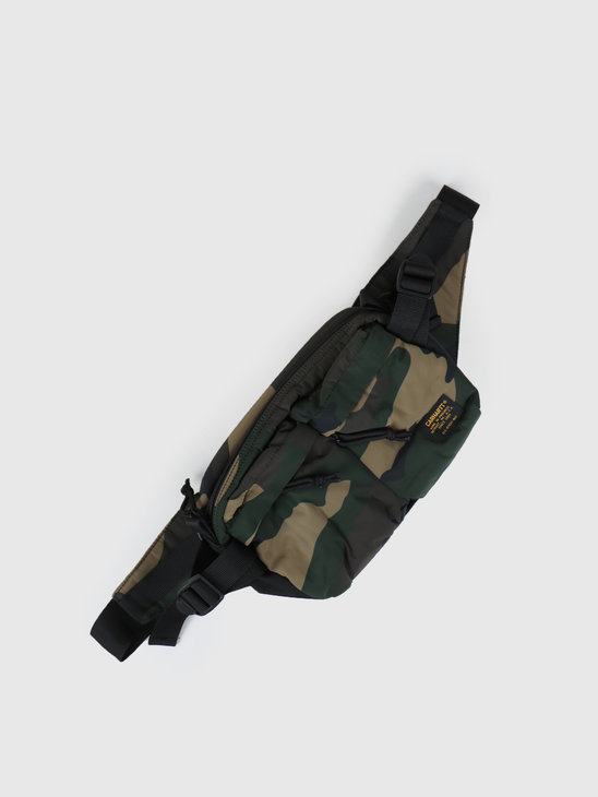 Carhartt WIP Military Hip Bag Camo Laurel Black I024252-64090